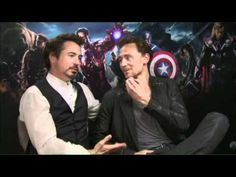 -Because... its' Tom and Robert... and they're perfect. And I have to stop watching these interviews I just fall in love with Tom all over again every time I hear him speak... I think everyone does. Look at RDJ... goodness.