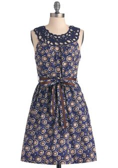 Posy a Question Dress, #ModCloth