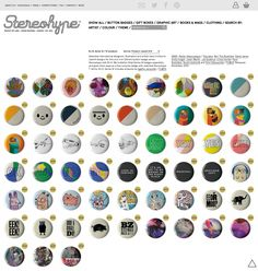 Out now: 57 fresh new B.I.O. (By Invitation Only) Button Badge Series 16 Stereohype beauties – including FL@33's new Glitch and Leaves badges. https://www.stereohype.com/318-bio-series-16 #STBIO #STBIO16