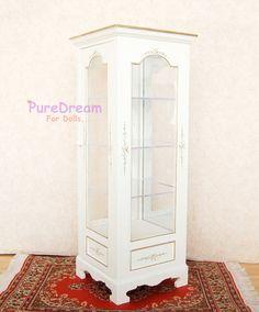 1:6 Furniture Display Cabinet Showcase For Barbie Blythe BJD Dolls Limited #Iland