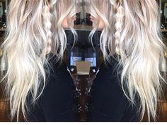 Icy ash blonde by hairbymarissamae