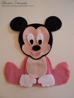 Alecrim Dourado: Moldes - Baby Disney