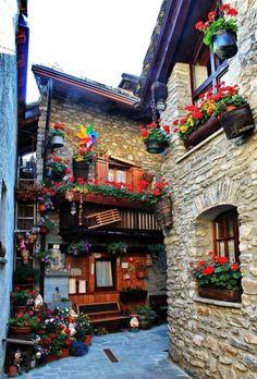 COURMAYEUR Valle D'Aosta italy.