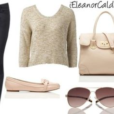 Eleanor Calder casual wear!