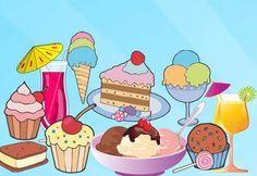 Les desserts:  Diverses activités