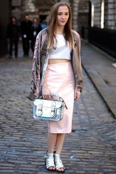 Street Style : Street Style: London Fashion Week ELLE.com