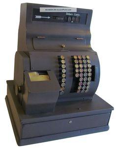 Antique National Cash Register Size 1082 S712996 Last Build Date 1944 Cash Register