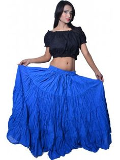 NEON GREEN Satin Full Circle Skirt Belly Dance Gypsy Club Tribal Costumes
