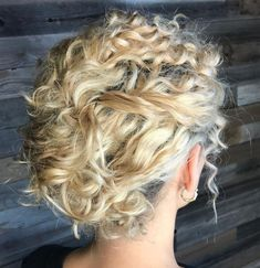 Short Curly Hair Updo, Curly Hair Styles Easy, Easy Hairstyles For Long Hair, Curly Bob Hairstyles, Natural Hair Styles, Short Hair Styles, Messy Updo, Black Hairstyles, Haircuts
