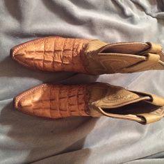 Children's cowboy boots Super cute cowboy boots. Children size 8. Made in Mexico Montenegro Shoes