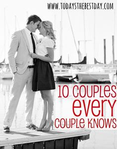 10 Couples EVERY Couple Knows - What type of couple are you? A fun list of different marriages and relationships we all probably have seen!