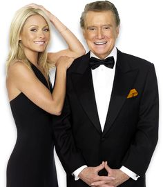 In her past ten years hosting with Regis Philbin, Ripa has received nine Daytime Emmy nominations for Outstanding Talk Show Host. Description from charitybuzz.com. I searched for this on bing.com/images