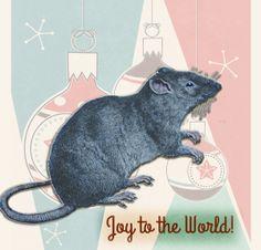 Holiday Rat | by China Rose