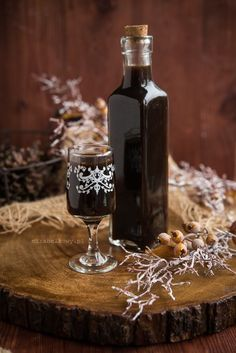 Kitchen Chemistry, Alcoholic Drinks, Beverages, Polish Recipes, Polish Food, Irish Cream, Party Snacks, Red Wine, Juice