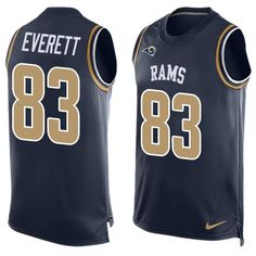 Ndamukong Suh jersey Nike Rams #81 Gerald Everett Navy Blue Team Color Men's Stitched NFL Limited Tank Top Jersey Sammy Watkins jersey Giants Odell Beckham Jr 13 jersey