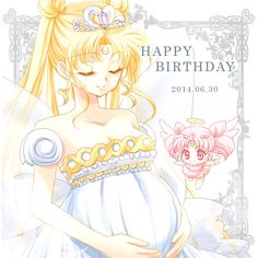 Neo Queen Serenity / pregnant with Small Lady Chibiusa Sailor Moom, Arte Sailor Moon, Sailor Moon Stars, Sailor Moon Usagi, Neo Queen Serenity, Princess Serenity, Sailor Moon Crystal, Princesa Serena, Sailor Saturno