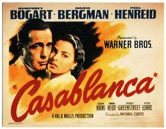 bout Casablanca. There isn't one person in this bar who doesn't have an angle, who isn't looking to push their own agenda. Ugarte wants to sell those Visas. Renault wants to impress Strasser. Strasser wants to take down Laszlo. Laszlo wants to escape to America. Rick wants to avoid Isla. Isla wants to talk to Rick. And to take it one step further, make sure a lot of those angles clash. That's where you get conflict, which is where you find drama, which is how you entertain audiences. That's…