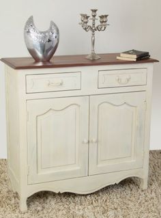 Chateau Shabby Chic Solid Mango Wood Sideboard from Homesscapes!