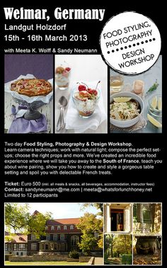 So excited about this Food Styling Photography and Design Workshop with @Confiture de Vivre  #workshop #photography #styling #design #craft #props