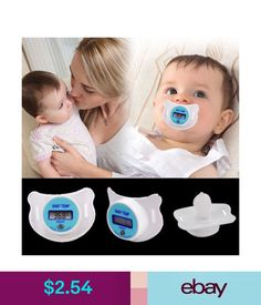 Dummies & Soothers Practical Baby Kids Lcd Digital Mouth Nipple Pacifier Thermometer Temperature Up & Garden Baby Body Temperature, Baby Temp, Baby Kids, Medical, Digital, Children, Health, Ebay, Salud