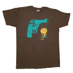 Playground Tee Men's Brown now featured on Fab. [T-shirt, Three Apparel]