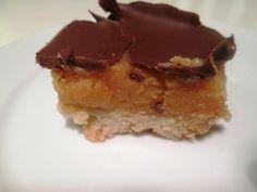 En verden af smag!: Karamelsnitter med Chokolade