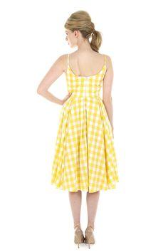 a6ffb7dfcf The Pretty Dress Company Priscilla Gingham Midi Dress - Shop from The  Pretty Dress Company UK
