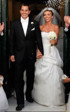 9/1/07: Guiliana DePandi & Bill Rancic (Monique Lhuillier)