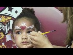 ▶ My Heart! Face Painting Step by Step - YouTube