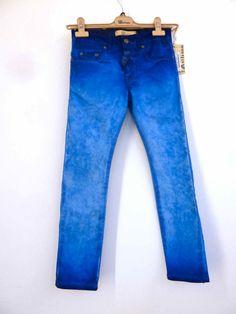 Intense blue jeans from John Galliano kids line summerr 2013