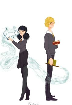 I love this except Marinette is definitely a Slytherin