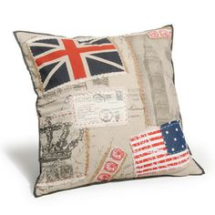 Coussin patch England