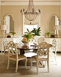 Dining room by Phoebe Howard #design #decorating