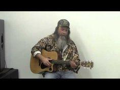 Mountain Man Sings.  LOL