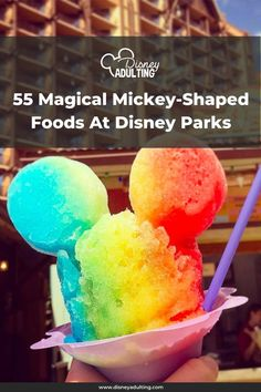 Waffles, pretzels and...hard-boiled eggs? Here's your comprehensive guide to all the foods modeled after the world's most-famous mouse Disney World Guide, Disney World Food, Disney World Restaurants, Disney World Parks, Disneyland Dining, Disney Planner, Disney Rides, Disney Dining Plan, Hard Boiled