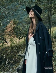 Model Marine Deleeuw graces the August 2016 cover of Harper's Bazaar Mexico. The brunette stunner poses outdoors wearing a Burberry leather shearling jacket with a chunky sweater dress from Isabel Marant. Inside the magazine, the French beauty embraces nature while wearing the fall collections. Photographed byDanny Cardozo and styled byAlmudena Guerra, Marine enchants in oversized...[Read More]