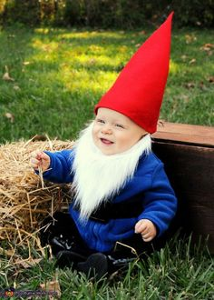 Gnome - this would be a cute and easy costume to make. Great for the colder weather we get.