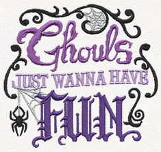 Ghouls Just Wanna Have Fun design (UT11403) from UrbanThreads.com