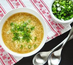 I find a bowl of egg drop soup to be one of the most soothing and comforting dishes ever invented. You really only need three base ingredients to make it (two in a pinch). And yet breathing in that steamy broth and savoring the first spoonful of silky egg curd — all my troubles immediately fade away.