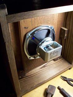 Bamboo steamer full-range speaker , DIATONE P610B