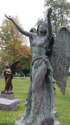 Cave Hill Cemetery in Louisville Kentucky. Beautiful monuments