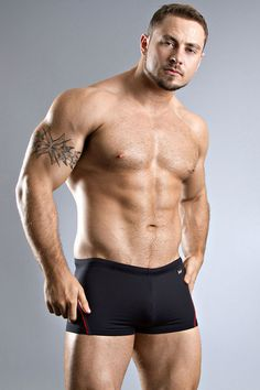 Channel Your Inner James Bond With The HOM Tailored Black  Swim Short