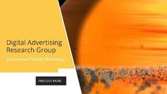 Bright advertising digital modern video template for a research group