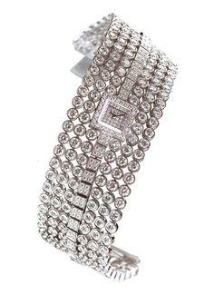 @Harry Winston diamond bracelet watch. | The Jewellery Editor