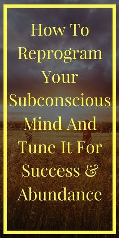 In this post, I show you 3 super effective and simple ways that you can use to easily reprogram your subconscious mind. Mantra, Subconscious Mind Power, Mind Reading Tricks, Mind Tricks, Depression Self Help, Stephen Covey, Mindfulness Meditation, Mindfulness Practice, Mindfulness Activities