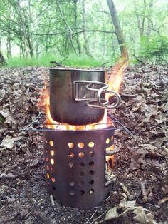 My IKEA hobo stove - from a recent post: http://martinblack.com/2014/12/homage-to-the-ikea-hobo-stove/ #wildcamping #ikea #hobos