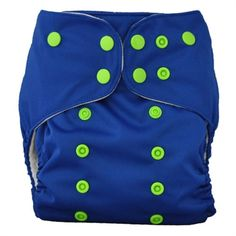 Lalabye Baby AI2 Cloth Diapers from Spray Pal Good night moon w/lime green snaps New