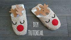 #tutorial #diy #natale #faidate #xmas #christmas #pantofole #renna