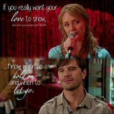 """"""" """"When to Let Go"""" - Amber Marshall & Shaun Johnston """" Heartland - - New Horizons Watch Heartland, Amy And Ty Heartland, Heartland Quotes, Heartland Ranch, Heartland Tv Show, Heartland Seasons, Heartland Actors, Best Tv Shows, Best Shows Ever"""