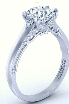 SOLITAIRE DIAMOND ENGAGEMENT RING 1460-2